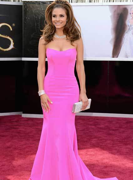 Oscars 2013: Academy Awards red carpet arrival pics: Maria Menounos
