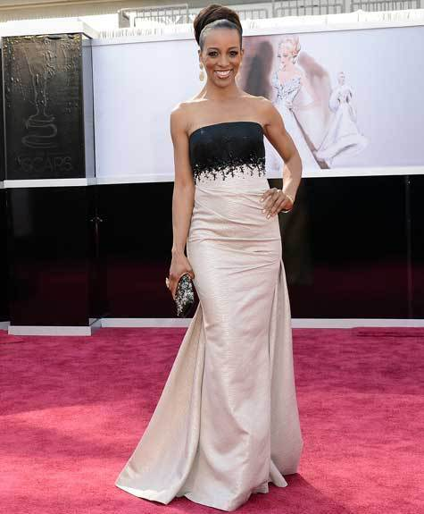 Oscars 2013: Academy Awards red carpet arrival pics: Shaun Robinson