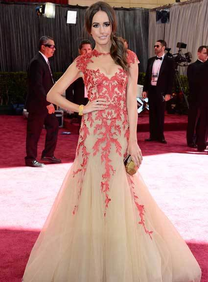 Oscars 2013: Academy Awards red carpet arrival pics: Louise Roe