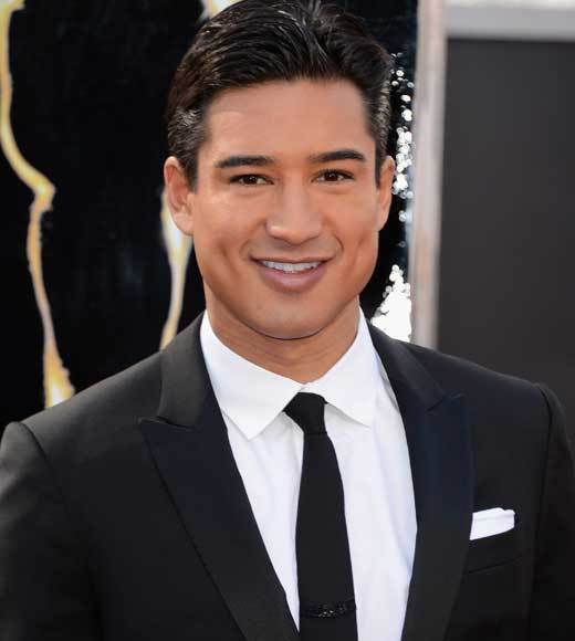 Oscars 2013: Academy Awards red carpet arrival pics: Mario Lopez