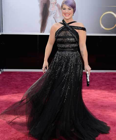 Oscars 2013: Academy Awards red carpet arrival pics: Kelly Osbourne