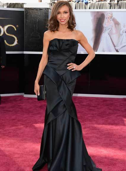 Oscars 2013: Academy Awards red carpet arrival pics: Giuliana Rancic
