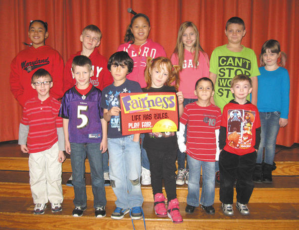 Front row, from left, Jacob Sottile, Trenton Foltz, Jacob Gary, Patience Wagner, Francis Castillo and Gus Burzinski. Back row, Leyla Hecht, Kyle Corley, Anniya Grantham, Katy Dillard, Zachary Eby and Ava Harper.