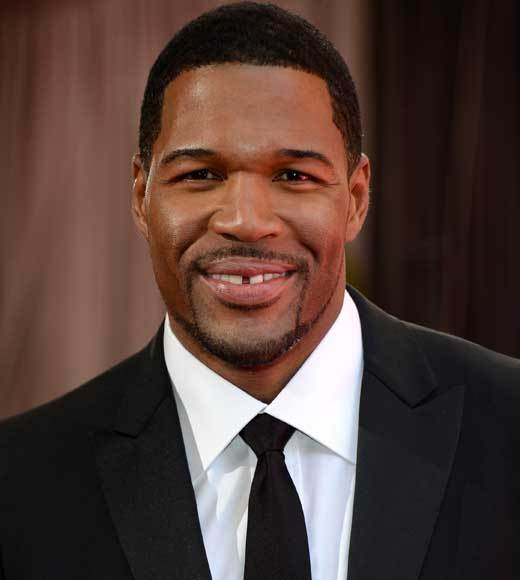 Oscars 2013: Academy Awards red carpet arrival pics: Michael Strahan