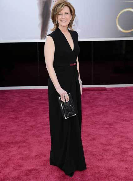 Oscars 2013: Academy Awards red carpet arrival pics: Anne Sweeney