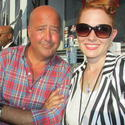Andrew Zimmern at Midtown food trucks