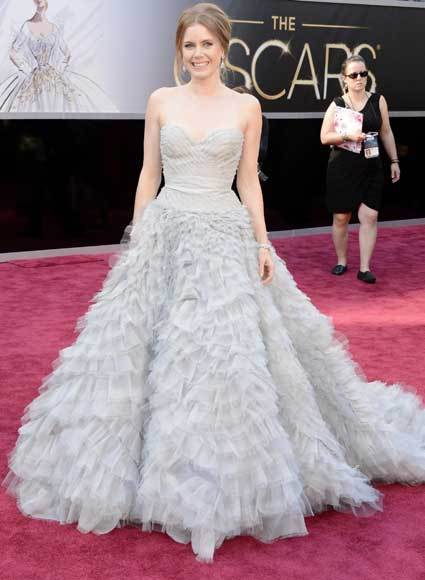 Oscars 2013: Academy Awards red carpet arrival pics: Amy Adams