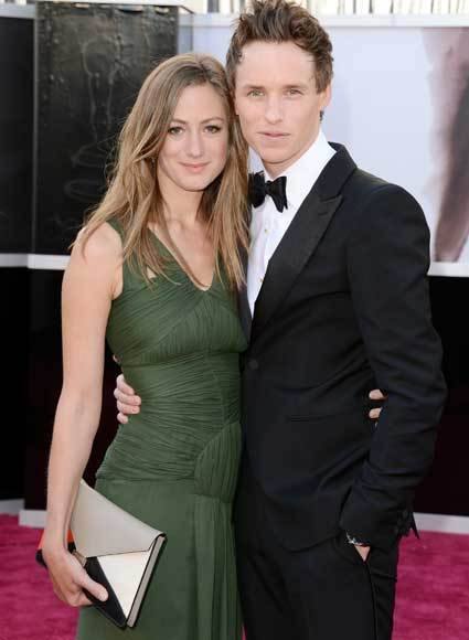 Oscars 2013: Academy Awards red carpet arrival pics: Hannah Bagshawe and Eddie Redmayne