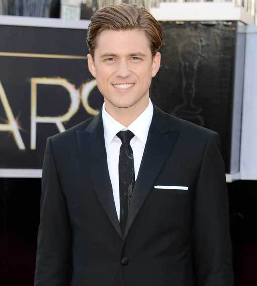 Oscars 2013: Academy Awards red carpet arrival pics: Aaron Tveit