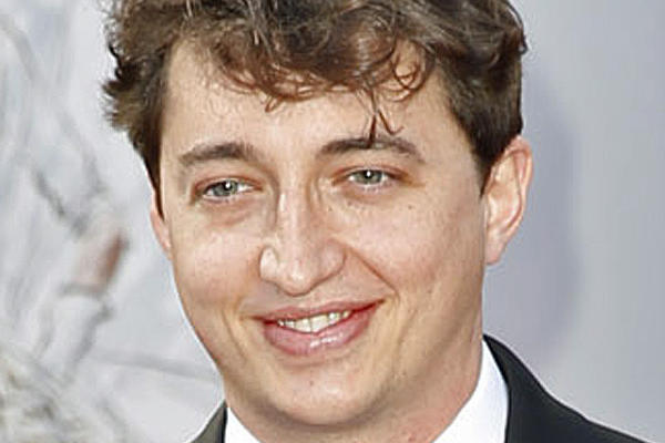 "Benh Zeitlin, director of ""Beasts of the Southern Wild,"" arrives on the red carpet at Sunday's Oscars."
