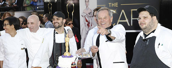 Wolfgang Puck arriving for the 85th Annual Academy Awards on Sunday, February 24, 2013 at the Dolby Theatre at Hollywood & Highland Center in Los Angeles, CA.  (Jay L. Clendenin / Los Angeles Times)