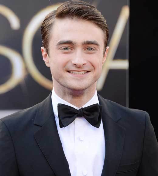Oscars 2013: Academy Awards red carpet arrival pics: Daniel Radcliffe