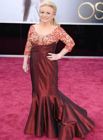Oscars 2013: Academy Awards red carpet arrival pics: Jacki Weaver