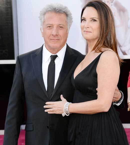 Oscars 2013: Academy Awards red carpet arrival pics: Dustin and Lisa Hoffman