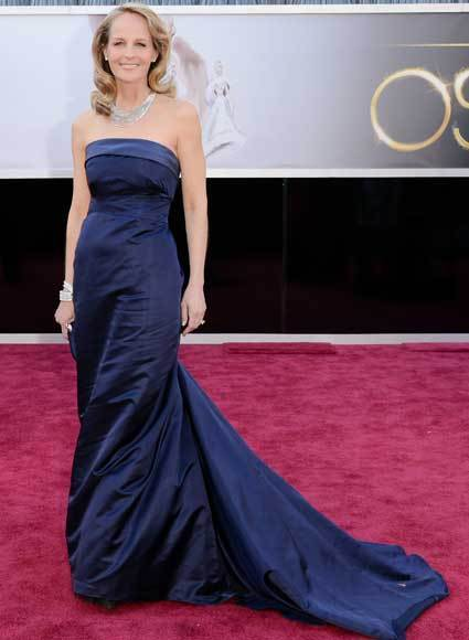 Oscars 2013: Academy Awards red carpet arrival pics: Helen Hunt