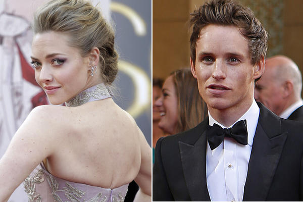 Amanda Seyfried and Eddie Redmayne