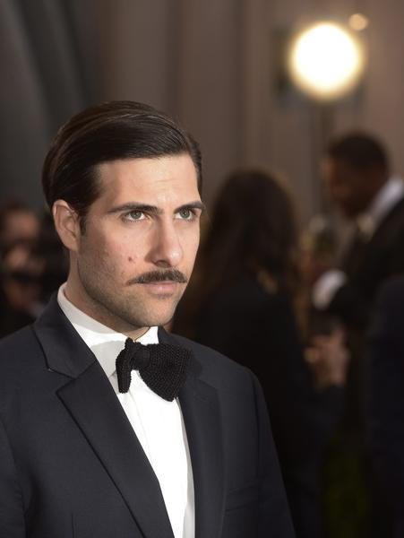 "Jason Schwartzman (""Moonrise Kingdom"") arrives  on the red carpet for the 85th Academy Awards at the Dolby Theatre at the Hollywood & Highland Center."