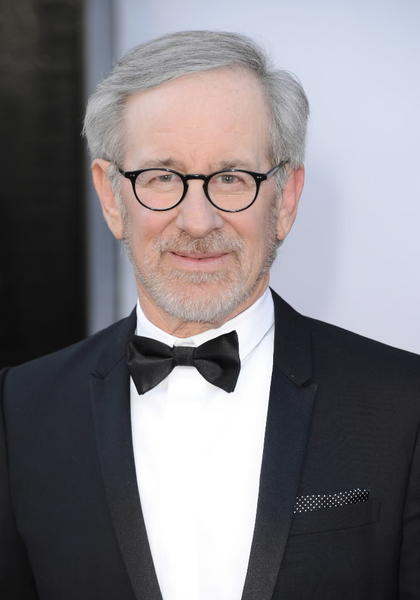 Director Steven Spielberg arrives at the Oscars.