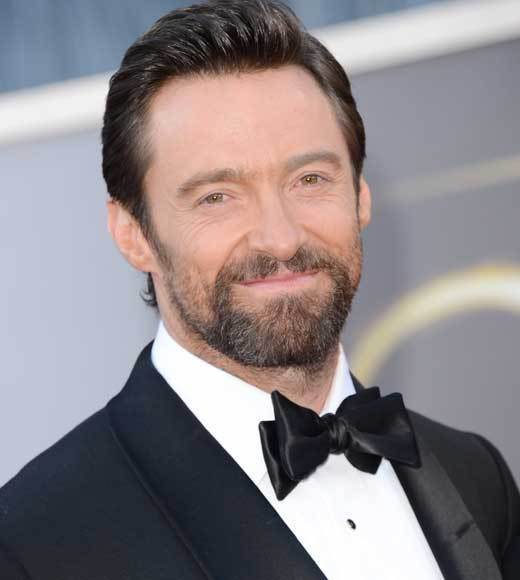 Oscars 2013: Academy Awards red carpet arrival pics: Hugh Jackman