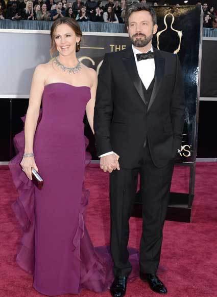 Oscars 2013: Academy Awards red carpet arrival pics: Jennifer Garner and Ben Affleck