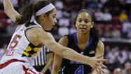 Terps women can't keep up with Duke in 75-59 loss