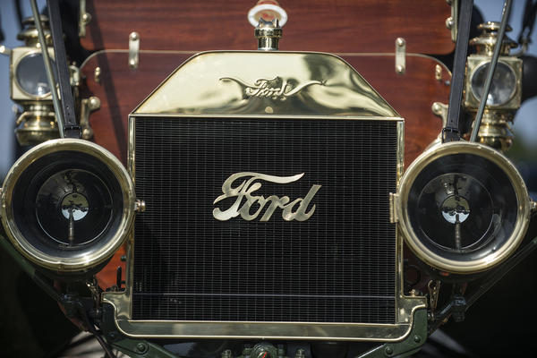 A 1910 Ford Model T was one of the cars on display during the 7th Annual Concours d' Elegance at the Boca Raton Resort & Club in Boca Raton. The three day event included a car and motorcycle show as well as an auction.