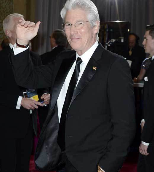 Oscars 2013: Academy Awards red carpet arrival pics: Richard Gere