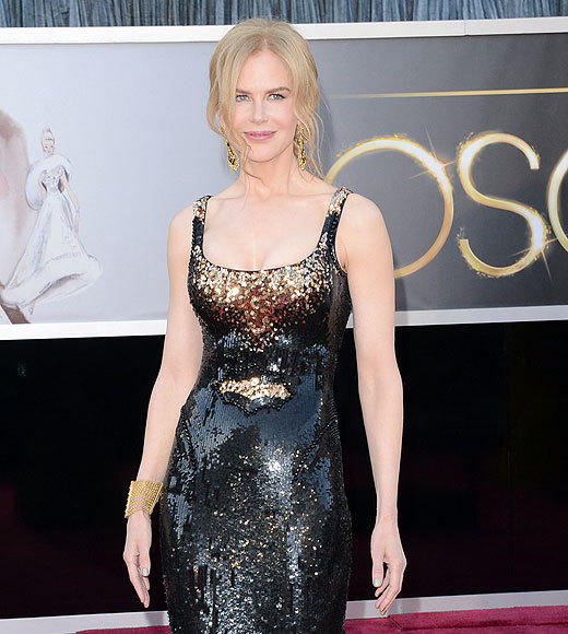 Oscars 2013: The best and worst moments: Nicole Kidman and Naomi Watts are famously good friends, and told by ABCs Lara Spencer that The Impossible nominee Watts seemed nervous on the red carpet, Kidman begged off when asked if she wanted to impart any advice. No, replied The Hours Academy Award winner. I mean, shes done it all before. Shes very poised. Its probably comforting to Watts, though, that Kidman will be sititng nearby,   -- Jay Bobbin, Zap2it