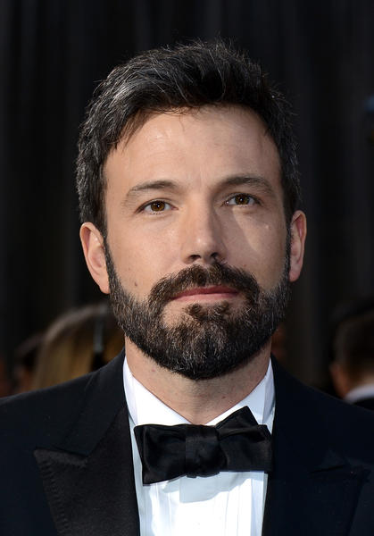 Director Ben Affleck and his Twitter-parodied beard.