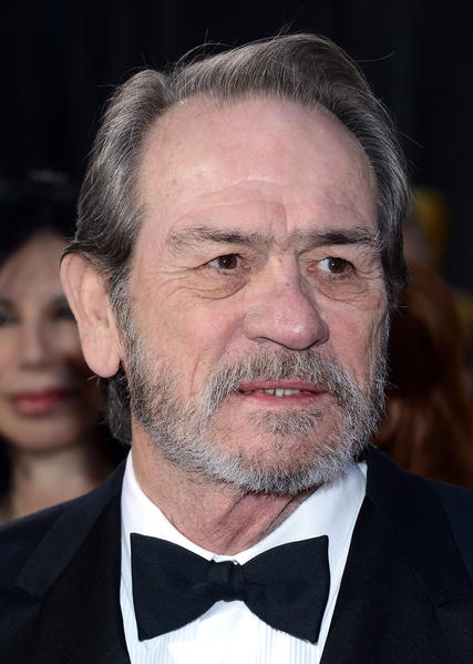 Tommy Lee Jones and the beard he's been keeping throughout awards season.