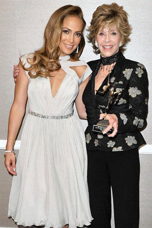 Jennifer Lopez, Jane Fonda