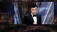 Seth MacFarlane reminds Hollywood 'We Saw Your Boobs'