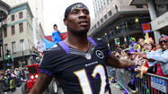 Jacoby Jones danced in several NFL end zones this season as he went from unheralded free agent pickup to one of the heroes of the Ravens' Super Bowl XLVII victory over the San Francisco 49ers earlier this month.