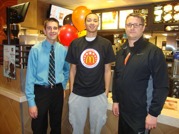 St. Charles East Athlete & McDonald's® All American Nominee Honored by Local McDonald's Operator