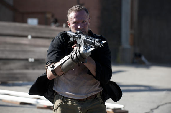 Merle Dixon killed Osama Bin Laden