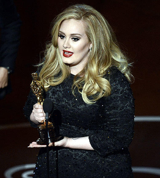Oscars 2013: The best and worst moments: Adele became overwhelmed by emotion when accepting her Oscar for Best Original Song. Genuine emotion. Were not used to that these days.   -- Carina Adly MacKenzie, Zap2it