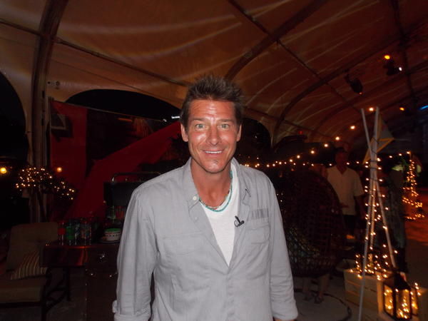 Ty Pennington attended the last event of the SobeWFF.