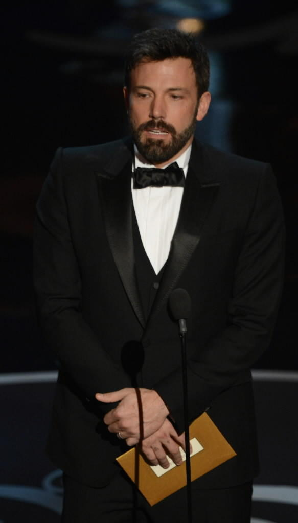 """Argo"" director and star Ben Affleck at the 2013 Oscars on Sunday night."