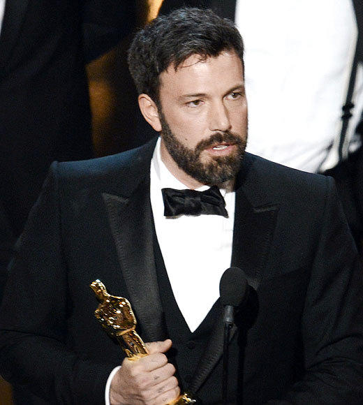 "The roller coaster ended on a high for Ben Affleck. After he was snubbed in the Best Director category for ""Argo,"" it looked like his movie's Best Picture chances may have faded. But the film took award season by storm and snatched up a series of major wins. The Oscar was the icing on the cake, and Affleck himself was moved to tears. ""It doesn't matter how you get knocked down ... all that matters is that you gotta get up,"" he said in his speech before dedicating the award to his kids Violet, Sam and Sera and clearly getting overcome with emotion. <br><br> <i>-- <a href=""http://twitter.com/geoffberkshire"">Geoff Berkshire</a>, <a href=""http://www.zap2it.com"">Zap2it</a></i>"