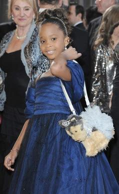 "Best red carpet fashion accessory: nominee Quvenzhane Wallis' stuffed puppy purse. And why did the 9-year-old choose her dress? ""It was sparkly and fluffy,"" she told the red carpet hosts. Finally, someone who knows how to navigate the red carpet without looking like a dolt."