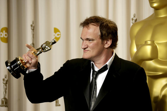 """I think an adult audience is really rising up,"" the ""Django Unchained"" writer-director said, and that's a good thing. ""That we're not making movies for teenagers anymore is kind of cool, especially now that I'm not a teenager anymore."" He won the Oscar for original screenplay."