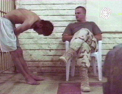 <b>IN U.S. CUSTODY:</b> Previously unpublished photographs and video of the abuse of Iraqis in 2003 were shown in Australia.