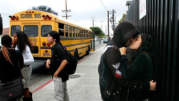 Locke High School Shooting Locke High School Bus