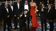 "LOS ANGELES (AP) — Just as Oscar host Seth MacFarlane set his sights on a variety of targets with a mixture of hits and misses, the motion picture academy spread the gold around to a varied slate of films. ""Argo"" won best picture as expected, along with two other prizes. But ""Life of Pi"" won the most awards with four, including a surprise win for director Ang Lee."