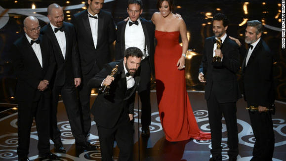 Argo wins best picture