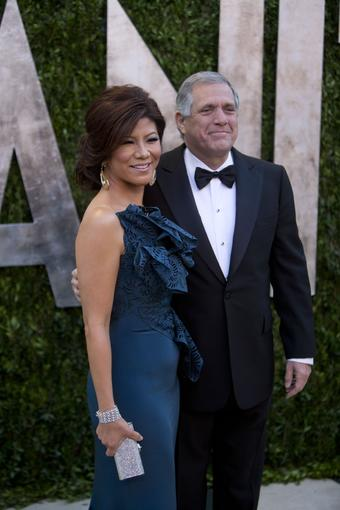 """Big Brother"" host Julie Chen and her husband, CBS Chief Executive Les Moonves."