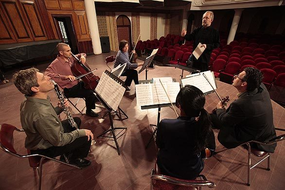 Southwest Chamber Music exchange in Hanoi -