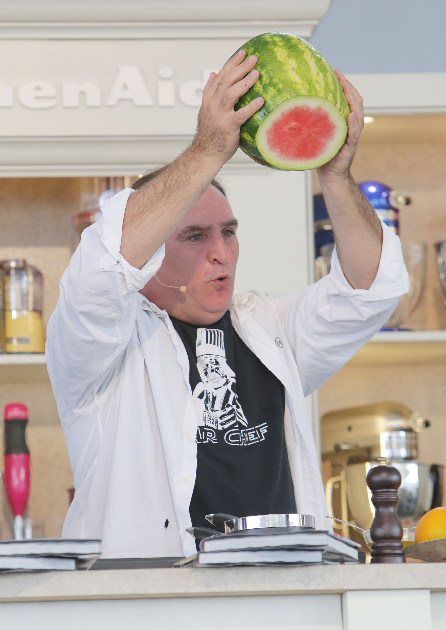 Celeb-spotting at SoBe Wine and Food Festival - SBWFF 2013 - Grand Tasting Village - Day 2