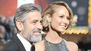 George Clooney and Stacy Keibler on the red carpet [Pictures]