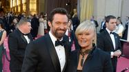 Oscars 2013 arrivals: Hugh Jackman and Deborra-Lee Furness